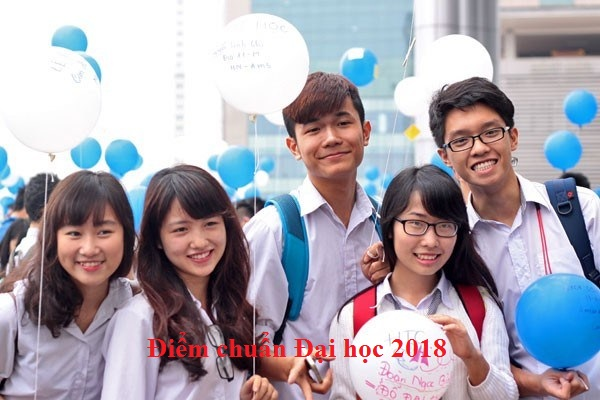 Công bố giảm điểm chuẩn Đại học 2018