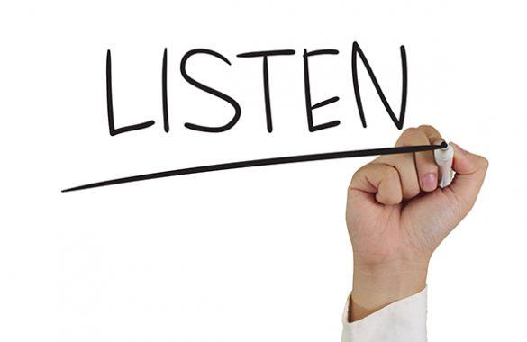 Bạn không thể lãnh đạo nếu không chịu lắng nghe