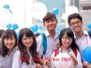 Điểm chuẩn Đại học 2018