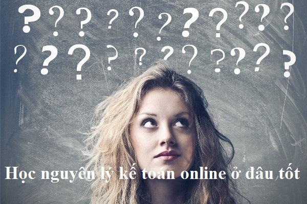 Học nguyên lý kế toán online ở đâu tốt?