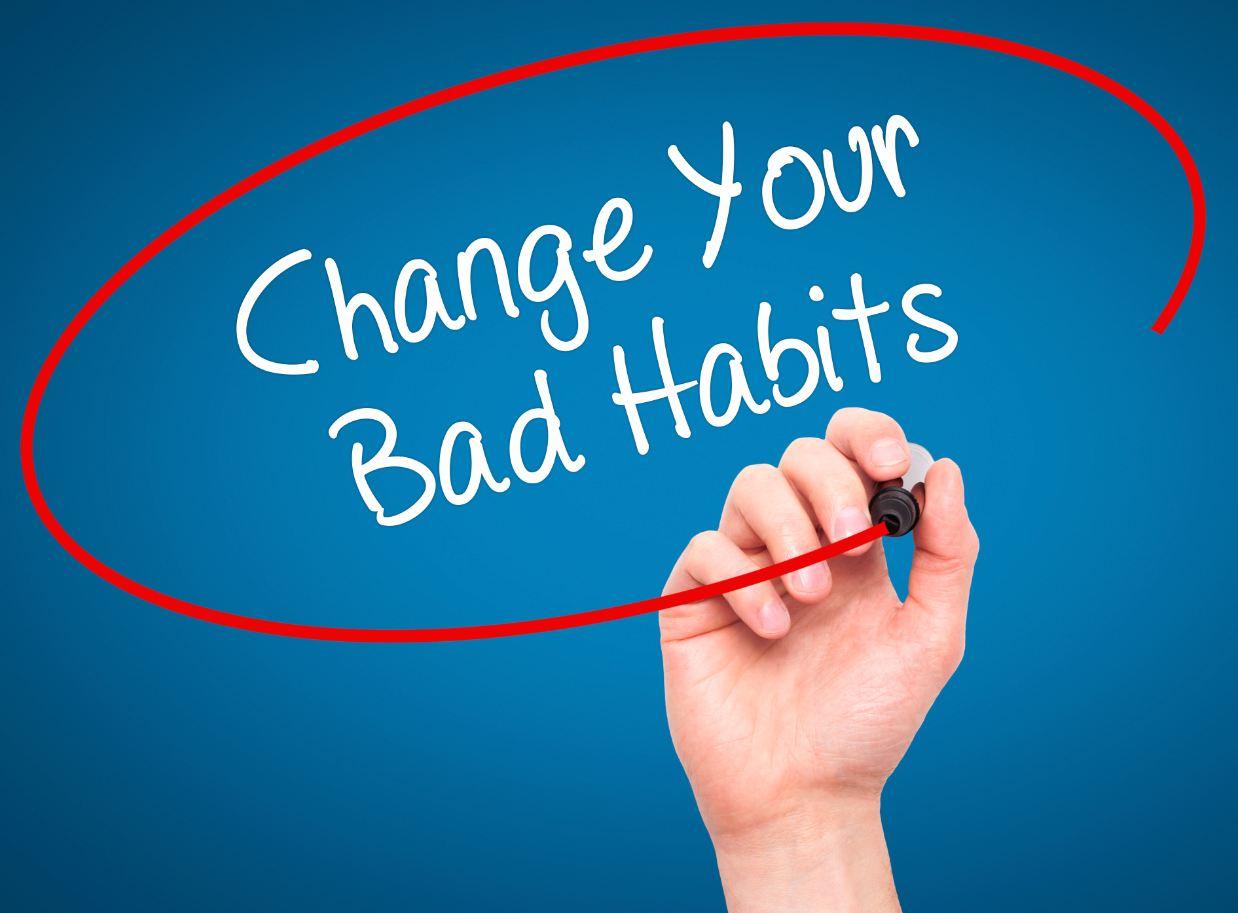 Những thói quen xấu tránh cử xử trong cuộc sống