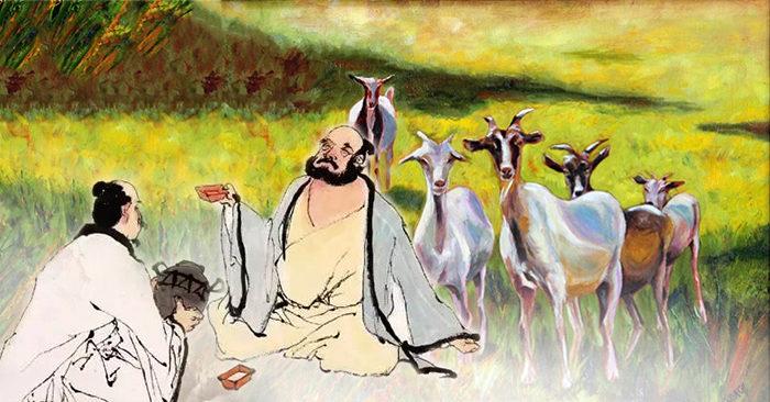Bài học nhân sinh giá trị từ câu chuyện người đốn củi và kẻ chăn dê