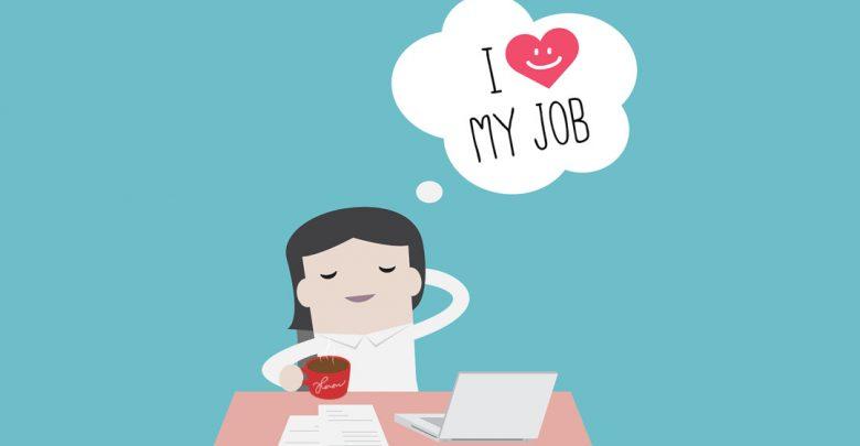 yêu thích công việc